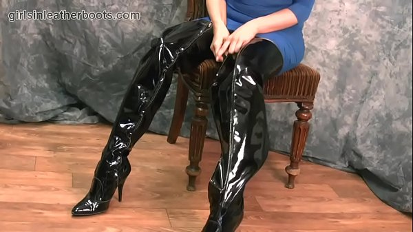 Panty, Big boot, Leather, Boots, Boot
