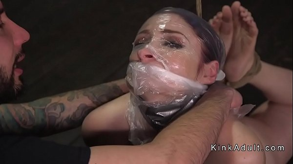 Gagged, Pain anal, Whipping