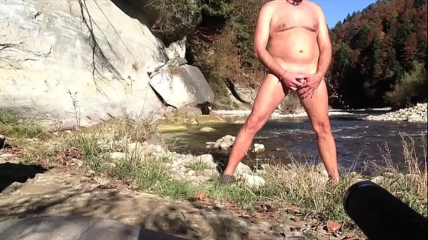 Nudist beach, Peeing, Nudist, Mature public