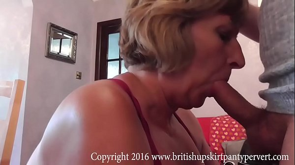 Panties, Upskirt, Fuck mature, Cum in mouth, Blowjobs, Swallowing