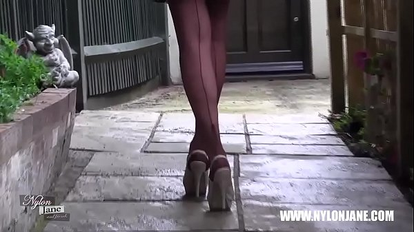 Feet, Nylon, Foot, High heels, Tease, Stocking feet