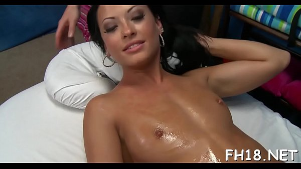 Oiled, Massage sex, Abused