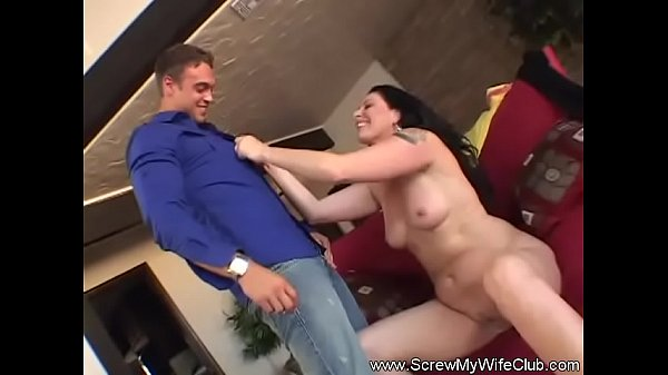 Swinger, Wife watches, Married