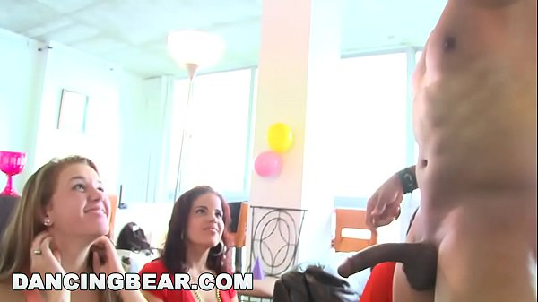 Cfnm, Funny, Dancing bear, Male strippers, Bachelorette