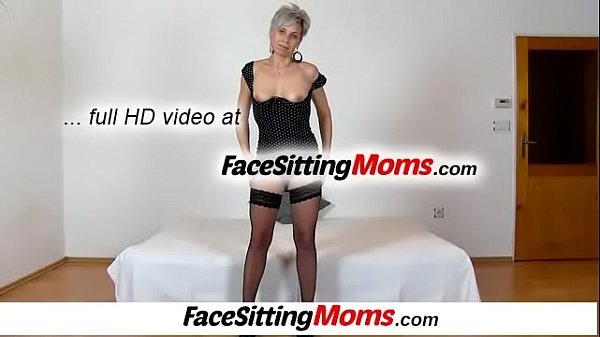 Mature and boy, Facesitting, Granny and boy, Boy mom