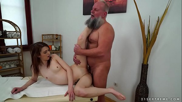 Old man, Oldman, Natural tits, Man ass