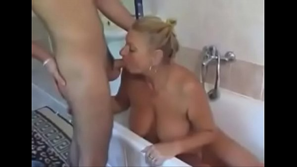 Mature and boy, Stepmom and son, Family boys, Step mother, Son and mom, Old and young