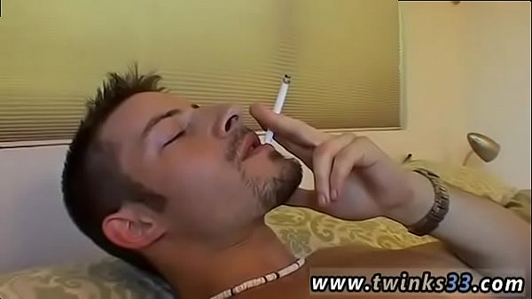Smoking, Man, Old young gay, Old man anal, Dad anal